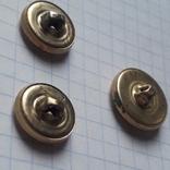 Пуговицы с якорем металл, 19 и 14 мм, фото №8