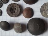 Пуговицы РИА и старинные, бронза сплав и т.д., 34 шт, фото №6
