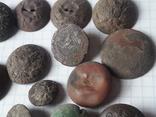 Пуговицы РИА и старинные, бронза сплав и т.д., 34 шт, фото №7