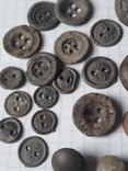 Пуговицы РИА и старинные, бронза сплав и т.д., 34 шт, фото №9