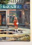 Картина, масло, холст, Дева и такси. Одесса 55х75 Автор Сергей Тюпо, фото №10