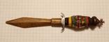Ручка в виде кинжала ИТК зэкпром, фото №3