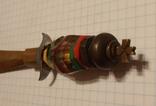Ручка в виде кинжала ИТК зэкпром, фото №6