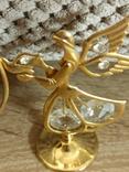 Ангел Филин Крест кристаллы Сваровски, фото №8