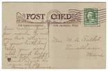 Старинная поздравительная. Модерн. П/п 1910 г., фото №3