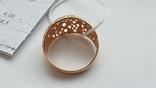 Женское золотое кольцо 585 пробы 4 гр 18.5, фото №5