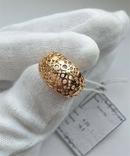 Женское золотое кольцо 585 пробы 4 гр 18.5, фото №3
