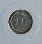 10ере1907гШвеция и 10центов1919гКанада(одним лотом)., фото №4