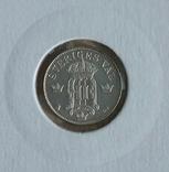 10ере1907гШвеция и 10центов1919гКанада(одним лотом)., фото №6