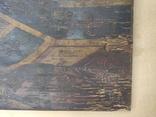 """Икона """" Николай Чудотворец"""". Большая. 68х52,5см. Мощевик(?). Украина. Сер.19века., фото №4"""