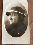 1936 Одесса Девушка в шляпке, фото №2