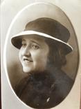 1936 Одесса Девушка в шляпке, фото №5