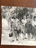 1954 Семья в пёстрых одеждах Пижама Мяч Ремень Бляха, фото №4