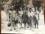 1954 Семья в пёстрых одеждах Пижама Мяч Ремень Бляха, фото №7