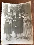 1952 Приморский Курорт Женщины в платьях, фото №3