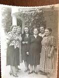 1952 Приморский Курорт Женщины в платьях, фото №6