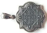 Новая. Серебряная иконка - подвеска 925 проба., фото №6
