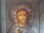Старинная икона Спаситель, фото №5