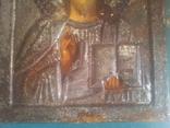 Старинная икона Спаситель, фото №6