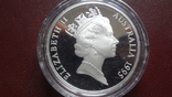 10 долларов 1995 Австралия Нумбат серебро (8.4.11)~, фото №4
