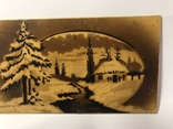 Настенный сувенир зимняя река, фото №4