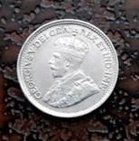 5 центов Канада 1918 состояние серебро, фото №2