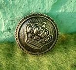 Пуговицы Корона металл 8 шт., фото №2