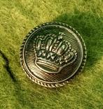 Пуговицы Корона металл 8 шт., фото №3
