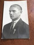 1927 Парень в галстуке Знак, фото №3