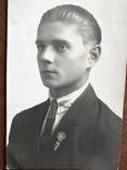 1927 Парень в галстуке Знак, фото №6