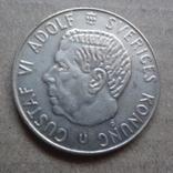 1 крона 1966 Швеция серебро (9.1.6), фото №3