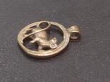 Крыса кулон статуэтка миниатюра брелок бронза, фото №4
