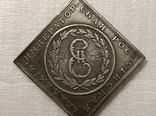 Медаль императорская российская академия1783 год v10 копия, фото №2