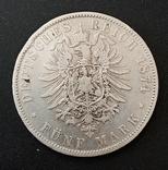5 марок 1874 р. Баварія, фото №7