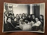 1958 Одесса Новый Год Вино Сладкая вода Бутылки Стаканы, фото №2