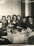 1958 Одесса Новый Год Вино Сладкая вода Бутылки Стаканы, фото №7