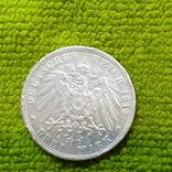 3 марки ,Германская империя 1913 г., фото №2