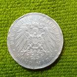 5 марок,,Германская империя 1903 г., фото №2