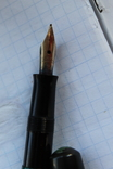 Ручка чернильная Pelikan перо золото 14кт старая, фото №6