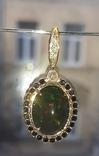 Кулон с бриллиантами, фото №2