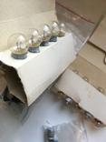 Радиодетали 120 шт. и лампочки 30 шт., фото №5