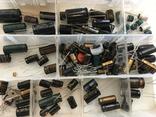 Радиодетали 120 шт. и лампочки 30 шт., фото №2