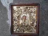 Коронованная Пресвятая Богородица Масло 19 век ., фото №4