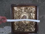 Коронованная Пресвятая Богородица Масло 19 век ., фото №11