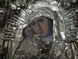 Коронованная Пресвятая Богородица Масло 19 век ., фото №13