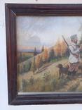 Картина Перекур на охоте, фото №3