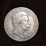 5 марок 1908 Вильгельм, фото №2