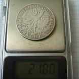 Польша 10 злотых 1932 года.Ядвига., фото №2