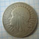 Польша 10 злотых 1932 года.Ядвига., фото №9