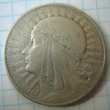 Польша 10 злотых 1932 года.Ядвига., фото №10